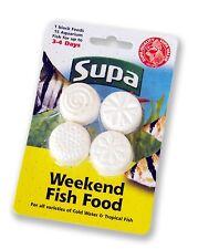 Supa Weekend Vacation Holiday Fish Food Feeding Blocks 4 x 6g