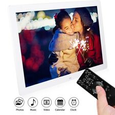 17in 16 10 1440*900 HD Digital Photo Picture Frame Alarm Clock Player Album ABS