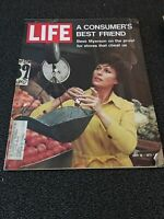 LIFE MAGAZINE JULY 16, 1971 A CONSUMER'S BEST FRIEND BESS MYERSON GOOD CONDITION