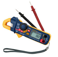 Pinza amperimétrica medidor de corriente amperimetro multímetro AC DC PCE-DC2