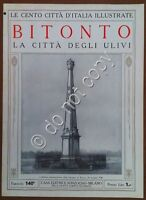 Le cento città d'Italia illustrate - n° 140 - Bitonto - La città degli ulivi