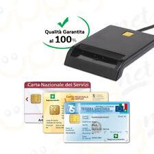 Lettore Smart Card Firma Digitale Tessera Sanitaria CNS,CRS,CIE Minilector Evo