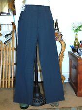 NWT DANIEL CREMIEUX COMFORT NAVY TWILL DRESS PANTS 38X32 MEAS 40X32  # Z708