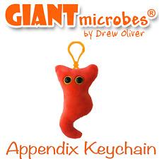 Giant Microbes Appendix Key Chain Keychain Keyring GiantMicrobes