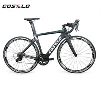 Costelo Speedcoupe road bike carbon complete bicycle frame wheels R8000 groups