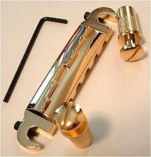 Guitar Hardware - WRAP AROUND - Bridge Tailpiece - Les Paul LP JR - GOLD