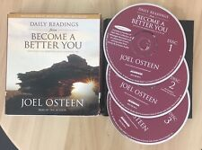 Daily Readings from Become a Better You Joel Osteen Christian Religous 3 CDs