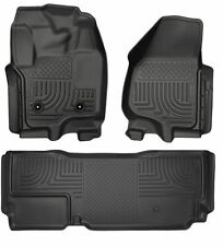 HUSKY WeatherBeater Floor Mats for 12-16 FORD F250 F350 Extended Cab 4 DR 99721