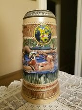 "Ducks Unlimited ""Wood Duck"" The Waterfowl Series 1st Edition Stein"