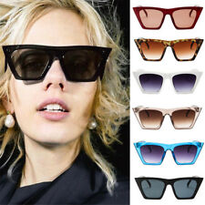 Vintage Retro Women Cat Eye Sunglasses Fashion Shades Oversized Eyewear Glasses