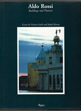 ALDO ROSSI Buildings & Projects 1985 1st Ed Hardback & Dj Architecture vtg FINE