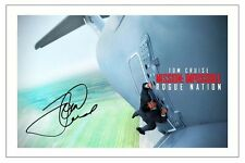 TOM CRUISE MISSION IMPOSSIBLE ROGUE NATION SIGNED PHOTO PRINT AUTOGRAPH POSTER