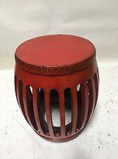oriental antique furniture red stool