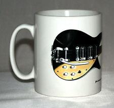 Guitar Mug. John Lennon's 1958 Rickenbacker 325 Capri Illustration.