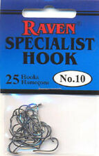 Raven Specialist Hooks Size 10 25pack $2.50 US Combined Shipping