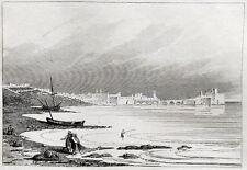Sidon Seefestung Libanon Saida Lebanon Qala´at Al Bahr Château de la mer 1835