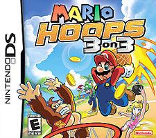 Mario Hoops 3 on 3 (Nintendo DS, 2006) *Complete*