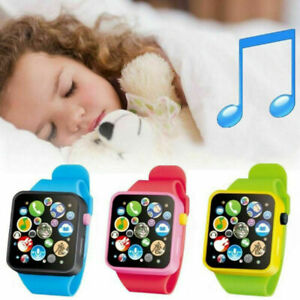 3D Touch Screen Educational Smart Watch Child Early Learning Music Baby Kids Toy