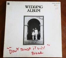 John Lennon & Yoko Yono ~Wedding Album~ Japan EAS-80702 OBI