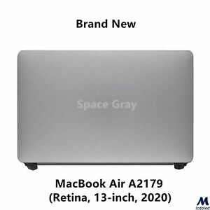 "LCD Screen Display Assembly for Macbook Air Retina 13"" A2179 2020 EMC 3302 Gray"