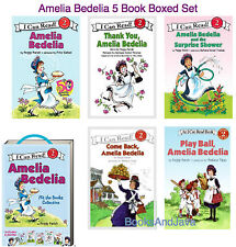 I Can Read Level 2 Amelia Bedelia by Peggy Parish (2016, 5 Paperback Box Set)