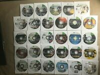25 Xbox 360 Battlefield Skyrim Call of Duty Halo Borderlands Games Lot 8 Tested
