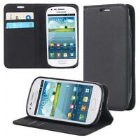 Samsung Galaxy S3 mini i8190 i8200 Coque de Protection Carte Portefeuille Housse