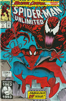SPIDER-MAN UNLIMITED #1 1ST APP SHRIEK MAXIMUM CARNAGE NM- (PRIORITY & FREE INS)