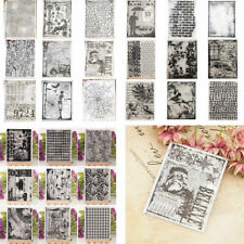 Silicone Clear Stamps Transparent Rubber Stamps DIY for Scrapbooking Craft Album