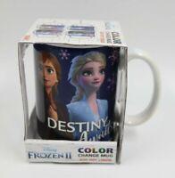 Disney Frozen II Destiny Awaits Color Change Ceramic Mug