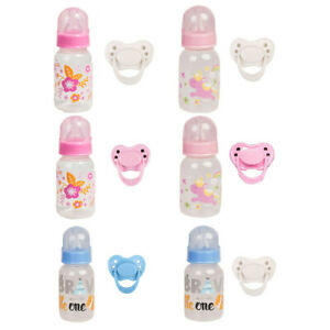 Magnetic Reborn Pacifier Dummy Bottle for Reborn Baby Dolls Accessories Supply