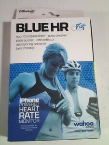 Wahoo Fitness Blue HR Heart Rate Monitor Cycling