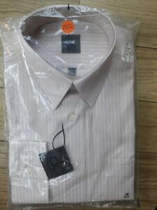 """Gents /Mens """"CALVIN KLEIN"""" Long Sleeve Dress Shirt 15 : 3/4 collar New with Tags"""