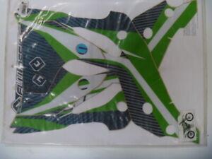 kawasaki 2013 to 2015 kx450f sticker kit , decal kit ,flu designs