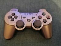 Official Sony Ps3 Silver Controller Spares and Repairs