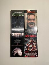 """Horror Vhs Lot: """"The Shining�, """"Spawn�, """"The Blair Witch Project� and More"""