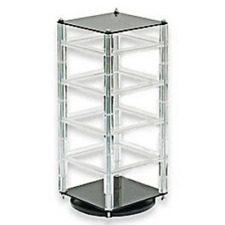 Revolving Earring Display Jewelry Stand Earring Holder Rack Card Rotating New