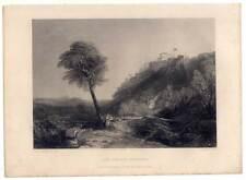 Loreto-ITALIA-The Loretto NECKLACE-ITALIA-PAESAGGIO-ACCIAIO CHIAVE Turner 1850