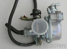 Pz 19 Carburetor w/Cable Chock & Fuel Lock fr 50cc -110cc X-8, -12 Pocket Bikes
