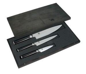 Shun Classic 3 Piece Chefs Knife Set