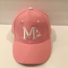 Pink Mississippi Braves Minor League MiLB Hat/Cap Promotional Adventures