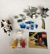 Lego Vintage Classic Space LOT Parts Hoses Ship Parts Minifigures Only 6820 6822