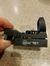 Sig Reflex Sight; 33mm Reflex Lens; 4 Reticle Patterns