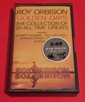 Roy Orbison - Golden Days The Collection of 20 All Time Greats Cassette Tape