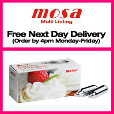 More details for mosa cream chargers 8g n2o nitrous oxide canisters + whippers option