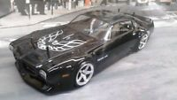 Custom Painted Body 71 Firebird Trans Am for 1/10 RC Drift Car Touring HPI 200mm