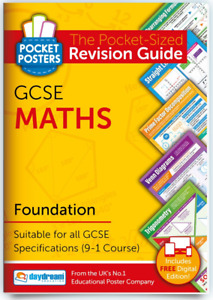 GCSE Maths Foundation | Pocket Posters: The Pocket-Sized Maths Revision Guide |