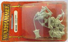 Warhammer Dwarf Miner Command (3) metal oop blister nib