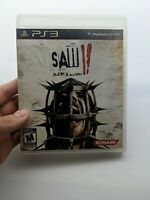 Saw 2 Flesh and Blood (Sony PlayStation 3, 2010) Complete CIB tested working