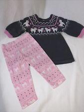 Euc Blueberi Blvd Sweater & Leggings Set Unicorn 12 Months